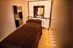 Doxford Hall Spa therapy room