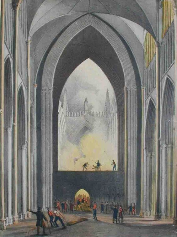 Dramatic Life of Jonathan Martin tanner york fire minster window