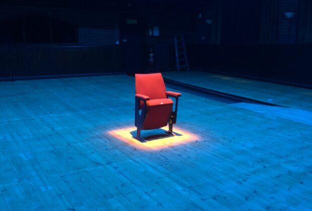 East Riding Theatre Seat and brick