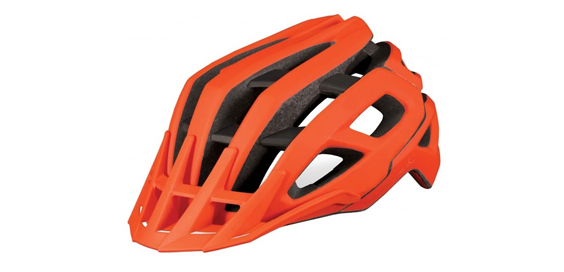 Endura Singletrack E1502 Cycle Helmet Review orange