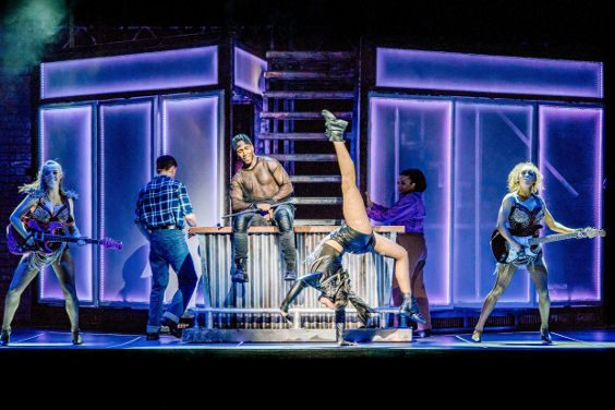 Demmileigh Foster Flashdance, the musical Bradford Alhambra 2018