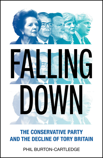 Falling Down by Phil Burton-Cartledge Book Review cover