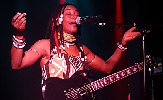 Fatoumata Diawara Live Review Belgrave Music Hall Leeds guitar