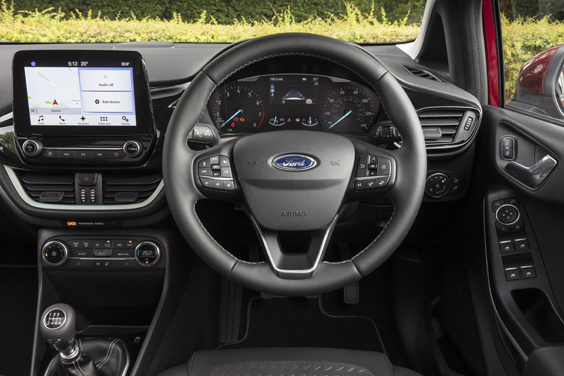 Ford Fiesta 1.0i Review interior
