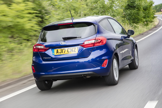 Ford Fiesta 1.0i Review rear