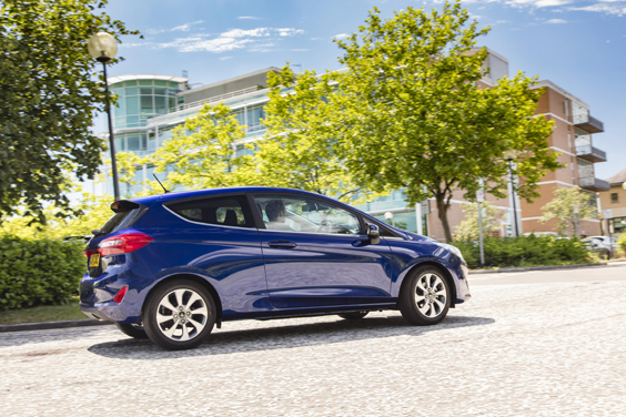 Ford Fiesta 1.0i Review side