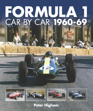 Formula 1 Car By Car 1960-69 by Peter Higham Book Review cover