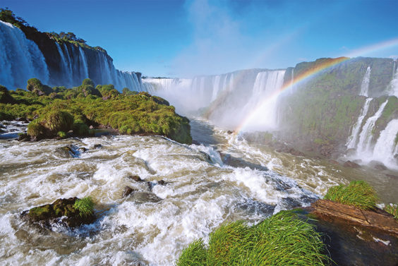 Foz do Iguaçu Brazil Travel Review waterfall
