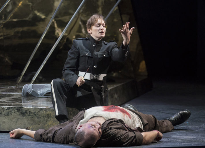Giulio Cesare opera north leeds grand theatre september 2019 review death
