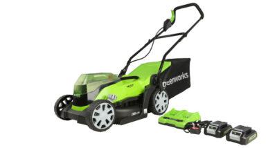 Greenworks 48v (2x24v) Cordless 36cm Lawnmower Review main