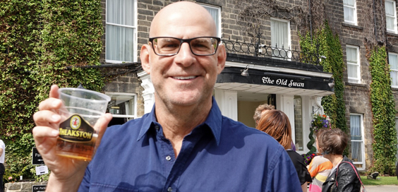Harlan Coben interview harrogate main