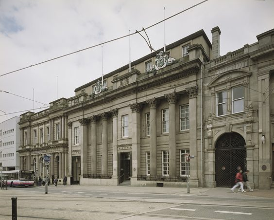 Historic Images of Sheffield City Centre cutlers hall