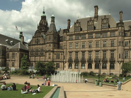 Historic Images of Sheffield City Centre main