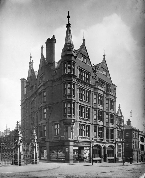 Historic Images of Sheffield City Centre pawson and brailsford building