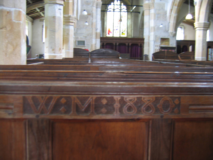 History of St Michael's Church, Kirky Malham – The Cathedral of the Dales pew
