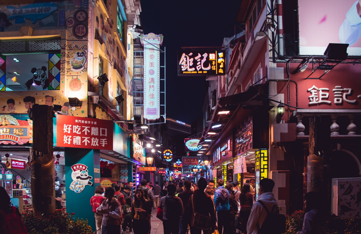 Hong Kong's Travel Bubble Might be Something Macau Should Look Into street