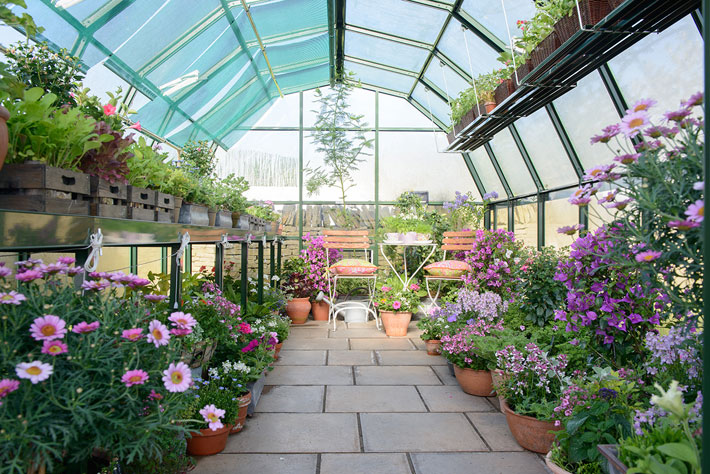 How a Greenhouse Can Extend the Growing Season Through Winter greenhouse