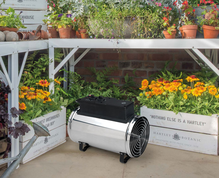 How a Greenhouse Can Extend the Growing Season Through Winter heater