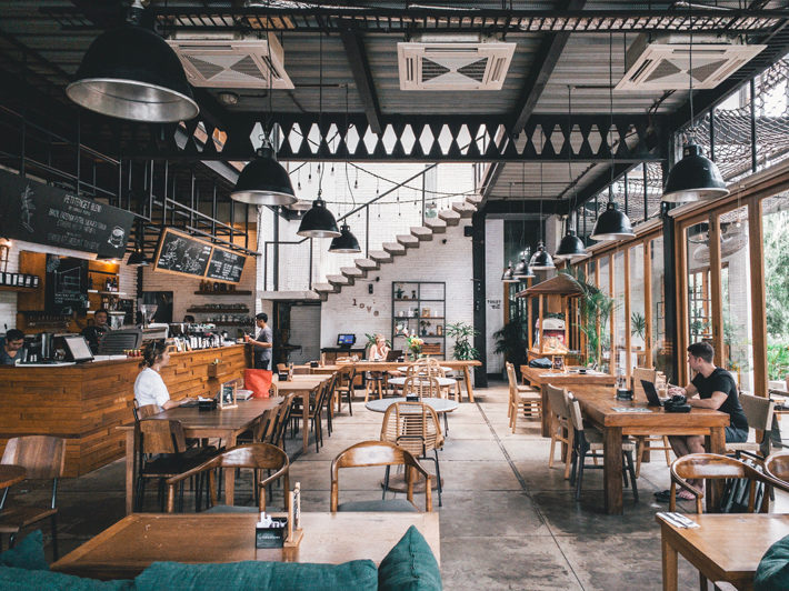 How to Build a Restaurant Around a Small Space interior