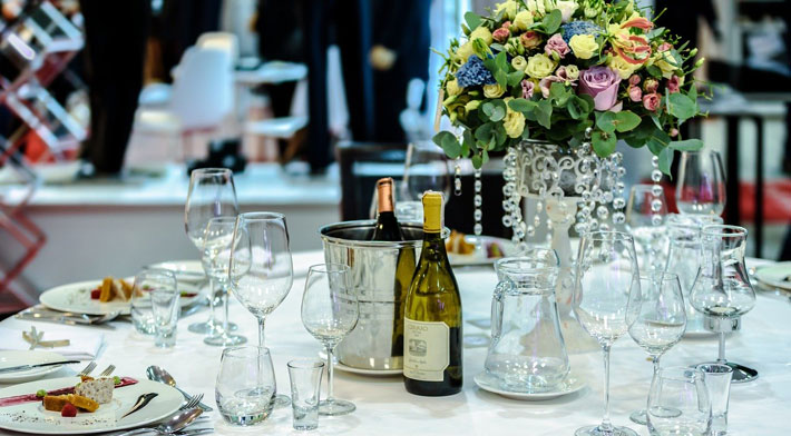 How to Choose a Corporate Events Company food