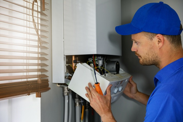 How to Install a New Boiler worker