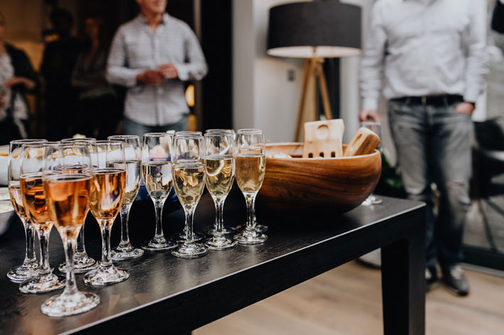 How to Make Your Home a Hospitable Space party