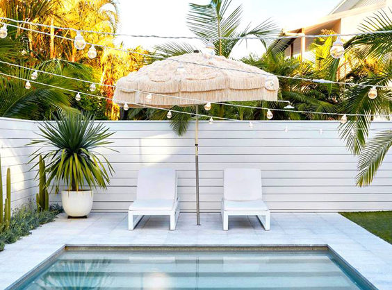 How to Style Your Home Like the Love Island Villa pool
