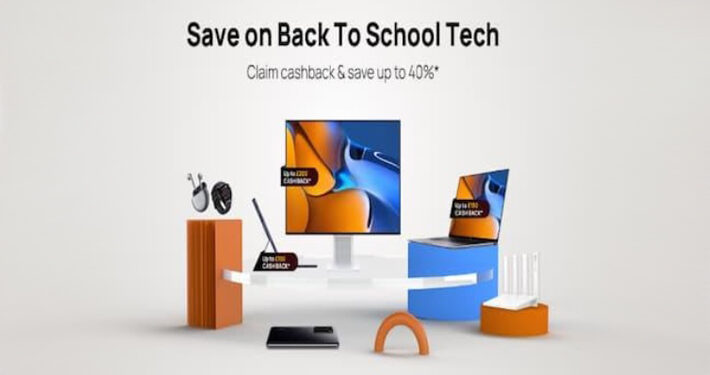Huawei's Massive Cashback for Back to School Techs main
