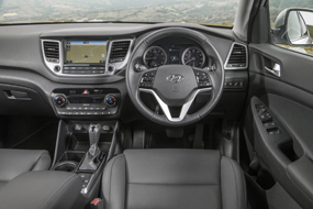 hyundai tucson review interior