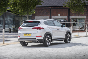 hyundai tucson review back view