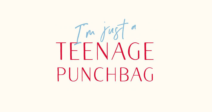 I'm Just A Teenage Punchbag Jackie Clune Book Review logo main