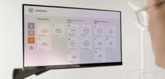 Intervention Leads to An Active Workplace screen