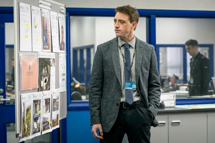Interview with Line of Duty's Perry Fitzpatrick actor