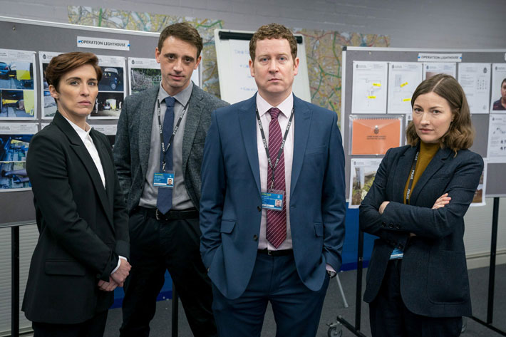 Interview with Line of Duty's Perry Fitzpatrick group