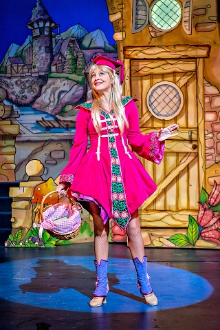 Jack and the Beanstalk review york theatre royal december 2017 pantomime Suzy Cooper as Jill