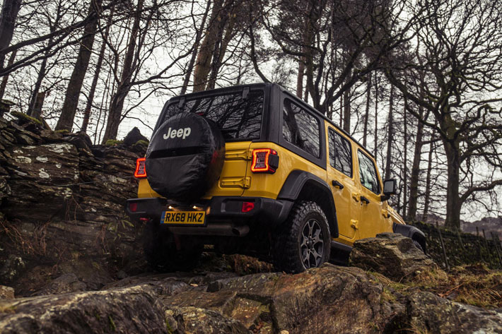 Jeep Wrangler Rubicon Review back