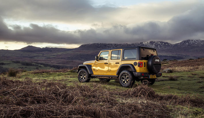 Jeep Wrangler Rubicon Review side