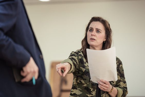 Jill Halfpenny The Girl on the Train interview leeds