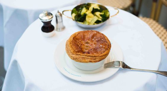 L'Entente Le British Brasserie paris restaurant review pie