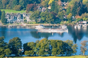 Lakeside Hotel and Spa lake district exterior