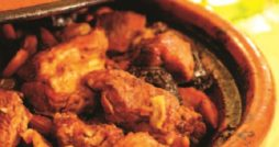 Lamb tagine with buttered herb couscous recipe
