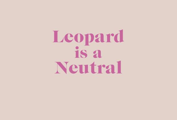 Leopard is a Neutral by Erica Davies book Review main logo