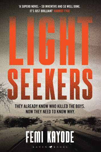 Lightseekers by Femi Kayode book Review cover