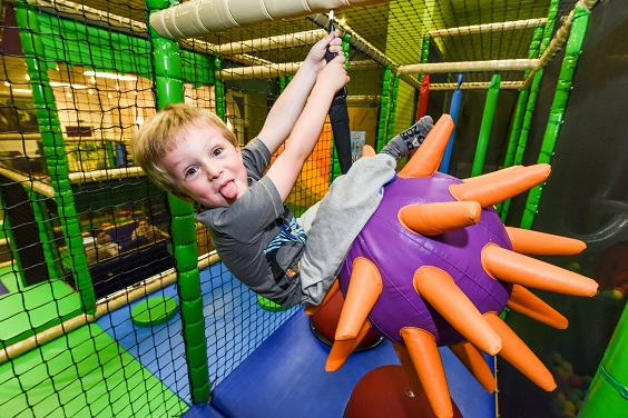 Lightwater Valley 2017 review soft play area