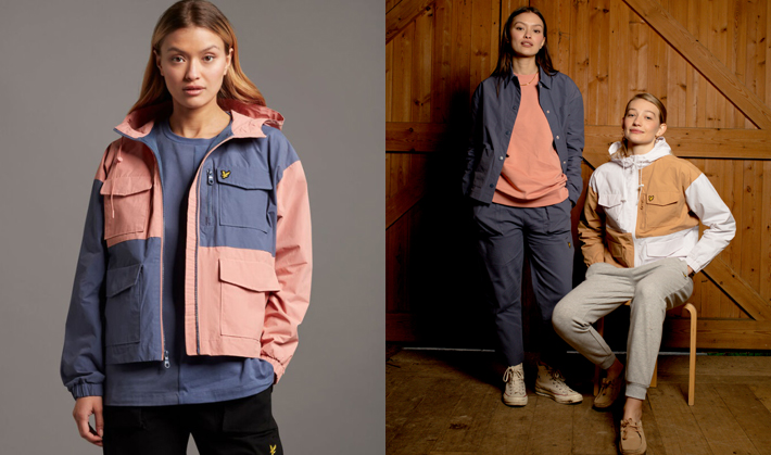 Lyle & Scott Look to Heritage for AW21 Womenswear Collection check