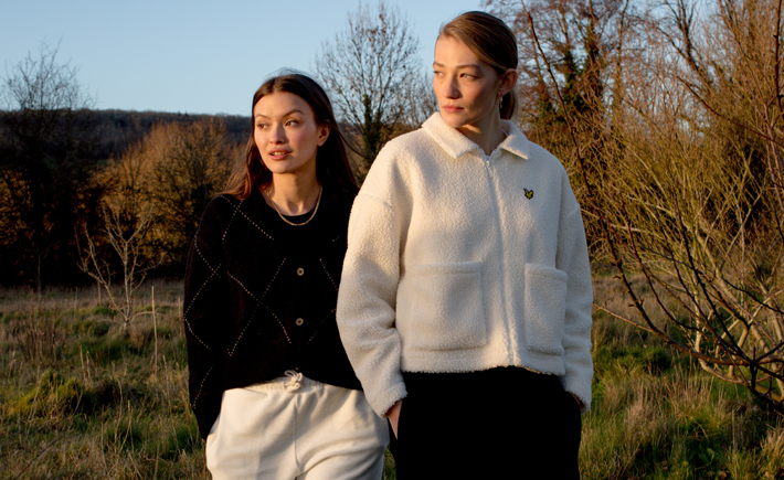 Lyle & Scott Look to Heritage for AW21 Womenswear Collection knitwear