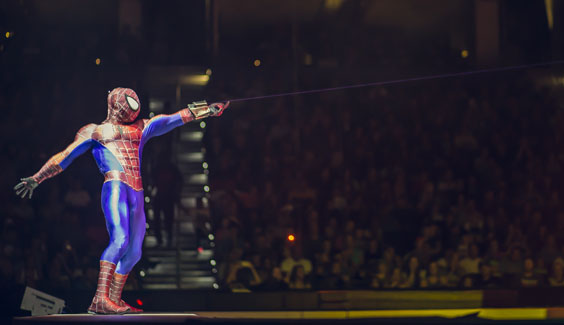 Marvel Universe Live Review Sheffield Arena January 2017 Lights Costumes Volume And Of