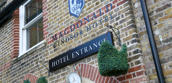 Macdonald Windsor hotel review Windsor Entrance exterior