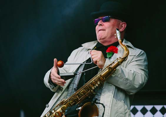 Madness live review Scarborough open air theatre saxophone