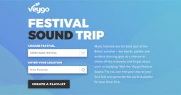 Map the Sounds of Summer with the Festival Sound Trip logo
